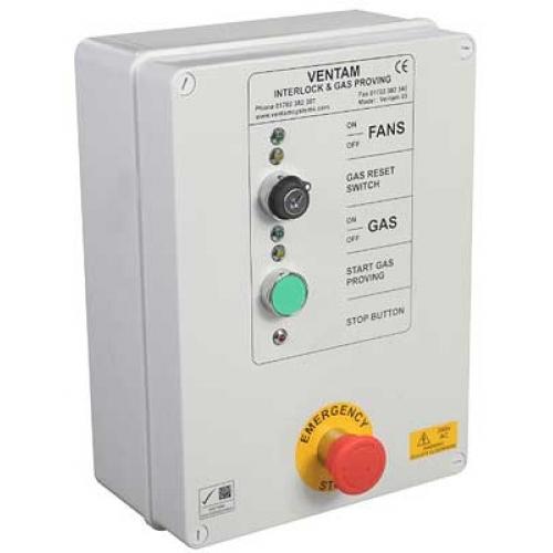 Ventam Systems 85 CW 1 1/2 Inch Gas Proving Valve